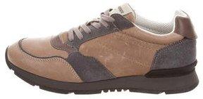 Giorgio Armani Leather Low-Top Sneakers w/ Tags