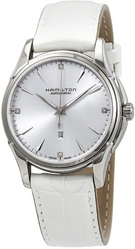 Hamilton Jazzmaster Automatic Diamond Silver Dial Ladies Watch
