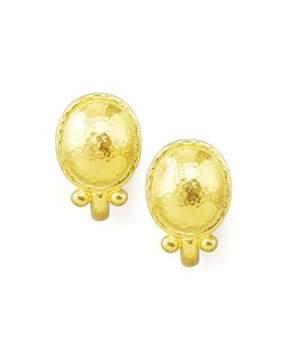 Elizabeth Locke Sarabella 19k Gold Earrings