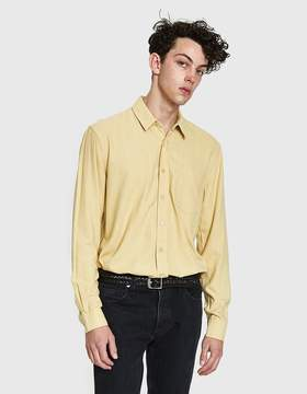 Our Legacy Classic Shirt in Fade Yellow Silk