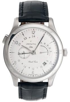 Zenith 03.0520.683 Grande Class Reserve De Marche RDM & Dual Time Automatic 44mm Mens Watch