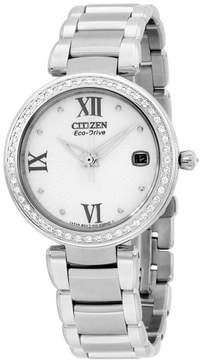Citizen Women's EO1100-57A 'Marne Signature' Eco-Drive Watch with Diamonds