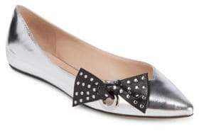 Marc Jacobs Rita Leather Flats