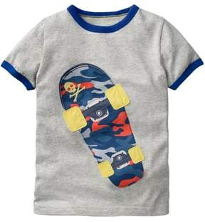Boden Mini Tipped Sports Graphic T-Shirt