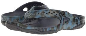 Crocs Swiftwater Kryptek Neptune Deck Flip Men's Shoes