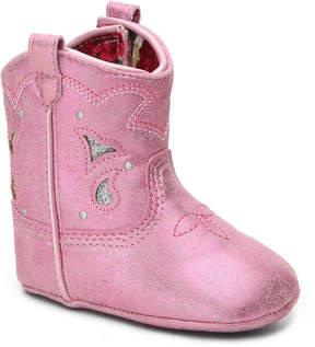 Jessica Simpson Girls Sammi Infant Western Crib Boot