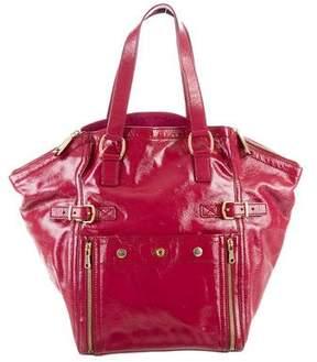 Saint Laurent Patent Leather Downtown Bag