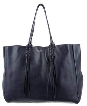 Lanvin Leather Shopper Tote
