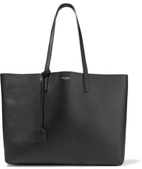 Saint Laurent Shopping Large Textured-leather Tote - Black - BLACK - STYLE