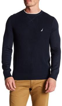 Nautica Solid Crew Sweater