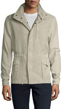 James Perse Men's Double Face Utility Jacket