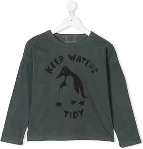 Bobo Choses penguin sweatshirt