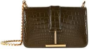 Tom Ford Alligator Tara Chain Shoulder Bag