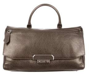 Class Roberto Cavalli Phoenix Leather Satchel