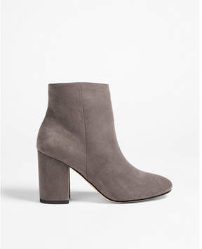 Express block heel booties