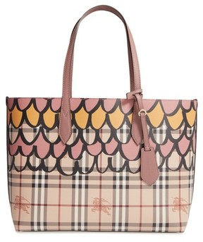 Burberry Medium Lavenby Reversible Tote - Purple - PURPLE - STYLE
