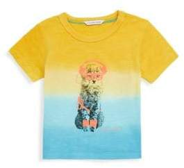 Little Marc Jacobs Baby Boy's & Little Boy's Colorblocked Cotton Tee