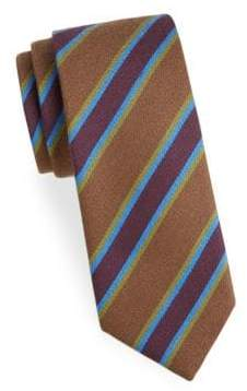 Charvet Striped Wool Tie