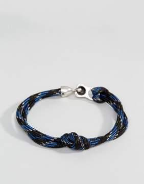 ICON BRAND Rope Bracelet In Navy