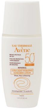 Avene Mineral Ultra-Light Hydrating Sunscreen Lotion, Face SPF 50+