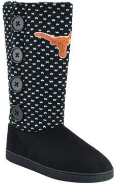 NCAA Women's Texas Longhorns Button Boots