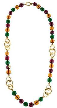 Chanel Gripoix Bead Necklace