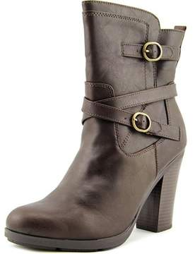 Style&Co. Style & Co. Style & Co Ameliya Women Round Toe Synthetic Brown Ankle Boot