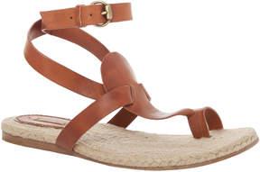 Max Studio Junior - Leather Ankle Wrap Sandals