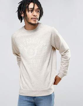 Esprit Crew Neck Sweatshirt with San Fran Print