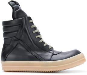 Rick Owens Geo basket hi top sneakers
