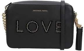 Michael Kors Md Camera Bag Crossbody - BLACK - STYLE
