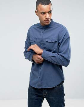 Brave Soul Twin Pocket Grandad Shirt