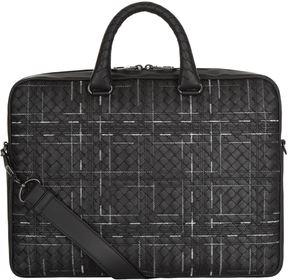 Bottega Veneta Atlas Intrecciato Leather Briefcase