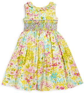 Luli & Me Garden Smocked Dress