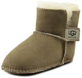 UGG I Erin Infant Round Toe Suede Nude Winter Boot.