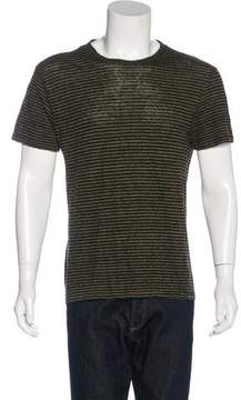 Alexander Wang Striped Linen T-Shirt