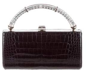 Judith Leiber Alligator Convertible Clutch