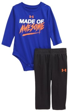Under Armour Infant Boy's Made Of Awesome Graphic Bodysuit & Sweatpants Set