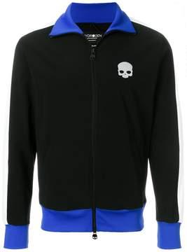Hydrogen skull zipped sweatshirt