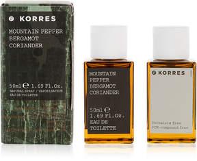 Korres Mountain Pepper Bergamot Coriander Eau de Toilette, 1.7-oz.