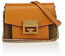 Givenchy Women's GV3 Mini Leather & Suede Shoulder Bag-Amber