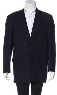 Burberry Wool Check Blazer