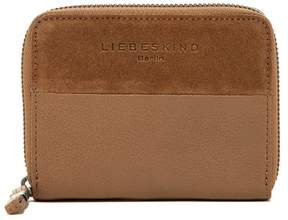 Liebeskind Berlin Connye Leather & Suede Zip Around Wallet