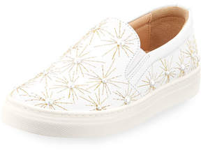 Aquazzura Cosmic Pearl Slip-On Sneaker, Toddler/Youth