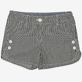 Nautica Girls' Railroad Stripe Short (8-16)