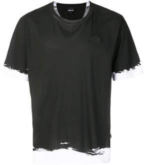 Just Cavalli colou block T-shirt