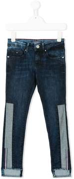 Tommy Hilfiger Junior contrast panel jeans