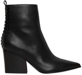 KENDALL + KYLIE 70mm Felix Studded Leather Ankle Boots