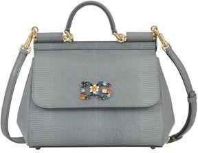 Dolce & Gabbana Medium Sicily Handbag - LIGHT GREY - STYLE