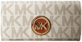 MICHAEL Michael Kors Fulton Carryall Clutch Handbags - VANILLA 1 - STYLE